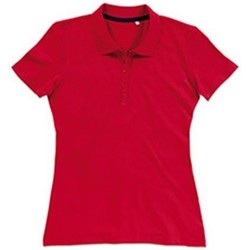 vaatteet Naiset T-paidat & Poolot Stedman Stars  Crimson Red