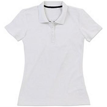 vaatteet Naiset T-paidat & Poolot Stedman Stars  White