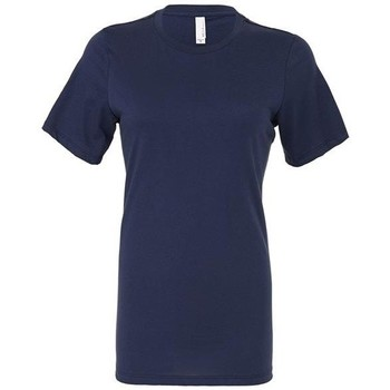 vaatteet Naiset T-paidat & Poolot Bella + Canvas BE6400 Navy