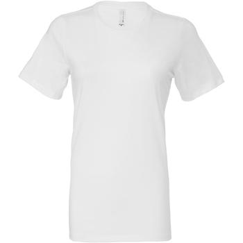 vaatteet Naiset T-paidat & Poolot Bella + Canvas BE6400 White