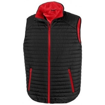 vaatteet Neuleet / Villatakit Result R239X Black/Red