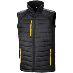 vaatteet Takit Result R238X Black/Yellow
