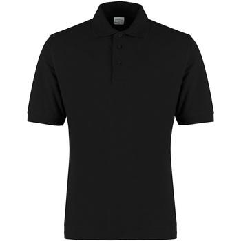 vaatteet Miehet T-paidat & Poolot Kustom Kit KK460 Black