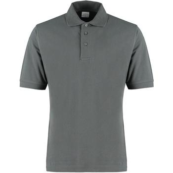vaatteet Miehet T-paidat & Poolot Kustom Kit KK460 Dark Grey