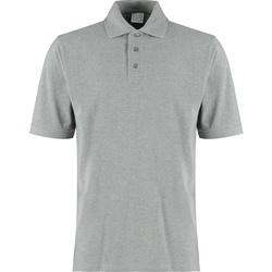 vaatteet Miehet T-paidat & Poolot Kustom Kit KK460 Grey Heather