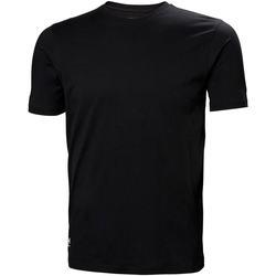 vaatteet Miehet T-paidat & Poolot Helly Hansen 79161 Black