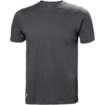 vaatteet Miehet T-paidat & Poolot Helly Hansen 79161 Dark Grey