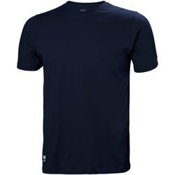 vaatteet Miehet T-paidat & Poolot Helly Hansen 79161 Navy