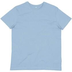vaatteet Miehet T-paidat & Poolot Mantis M01 Sky Blue