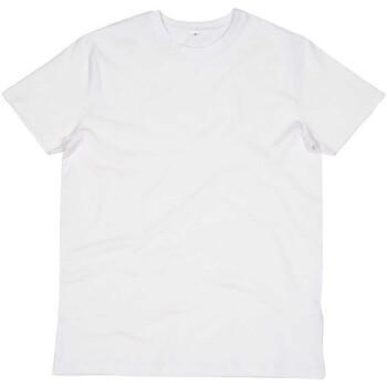 vaatteet Miehet T-paidat & Poolot Mantis M01 White
