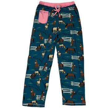 vaatteet Naiset pyjamat / yöpaidat Lazyone  Blue