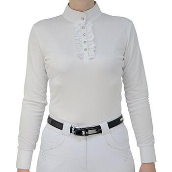 vaatteet Naiset Topit / Puserot Hyfashion  White