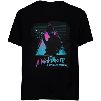 vaatteet T-paidat & Poolot Nightmare On Elm Street  Black