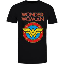 vaatteet T-paidat & Poolot Wonder Woman  Black