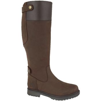 kengät Naiset Saappaat Woodland  Dark Brown