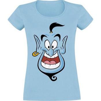 vaatteet Naiset Lyhythihainen t-paita Aladdin  Blue