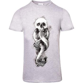 vaatteet Lyhythihainen t-paita Harry Potter  Grey Heather