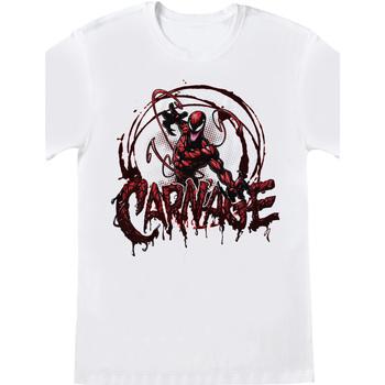 vaatteet Lyhythihainen t-paita Spiderman  White