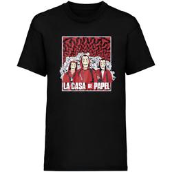 vaatteet Lyhythihainen t-paita Money Heist  Black