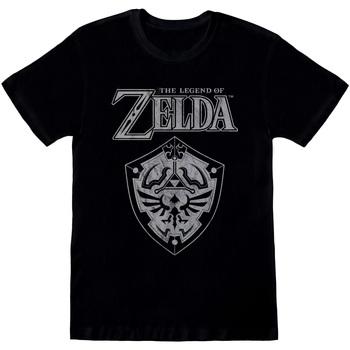 vaatteet Lyhythihainen t-paita Nintendo  Black