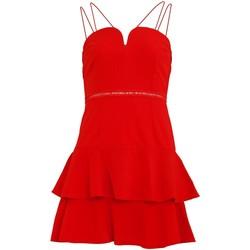 vaatteet Naiset Lyhyt mekko Girls On Film  Tomato Red