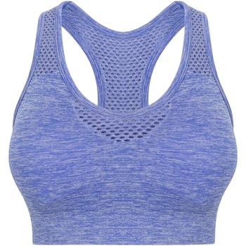 vaatteet Naiset Urheiluliivit Tombo TL696 Blue Marl
