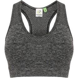vaatteet Naiset Urheiluliivit Tombo TL696 Dark Grey Marl