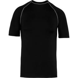 vaatteet Lapset Lyhythihainen t-paita Proact PA4008 Black