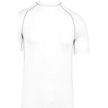 vaatteet Lapset Lyhythihainen t-paita Proact PA4008 White