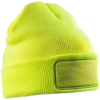 Asusteet / tarvikkeet Pipot Result Winter Essentials RC034X Fluorescent Yellow