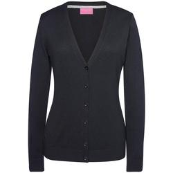 vaatteet Naiset Neuleet / Villatakit Brook Taverner BK554 Black