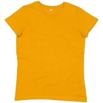 vaatteet Naiset Lyhythihainen t-paita Mantis M02 Mustard