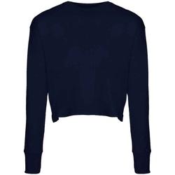 vaatteet Naiset T-paidat pitkillä hihoilla Next Level NX7481S Midnight Navy