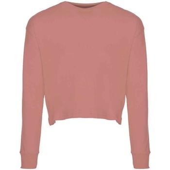 vaatteet Naiset T-paidat pitkillä hihoilla Next Level NX7481S Desert Pink