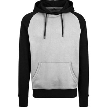 vaatteet Miehet Svetari Build Your Brand BY077 Grey/Black