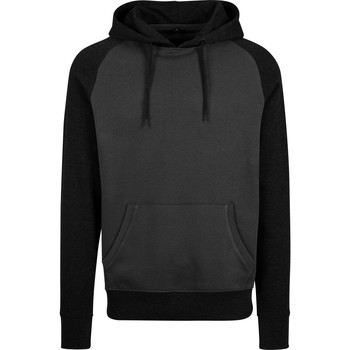 vaatteet Miehet Svetari Build Your Brand BY077 Charcoal/Black
