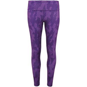 vaatteet Naiset Legginsit Tridri TR035 Purple