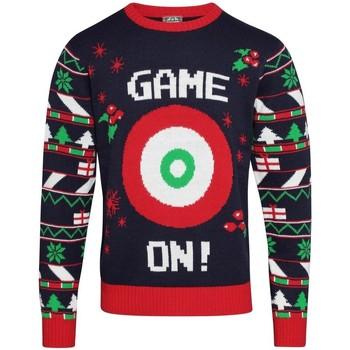 vaatteet Miehet Svetari Christmas Shop  Navy