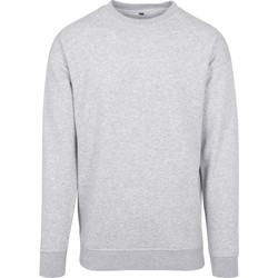 vaatteet Miehet Svetari Build Your Brand BY075 Grey