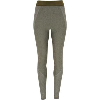 vaatteet Naiset Legginsit Tridri TR212 Olive