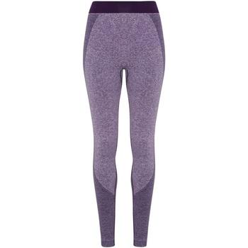 vaatteet Naiset Legginsit Tridri TR212 Purple