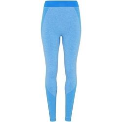 vaatteet Naiset Legginsit Tridri TR212 Sapphire Blue