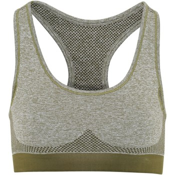 vaatteet Naiset Urheiluliivit Tridri TR210 Olive Green