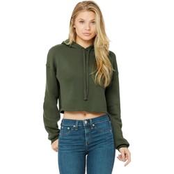 vaatteet Naiset Svetari Bella + Canvas BE7502 Military Green