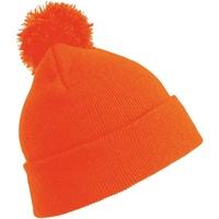 Asusteet / tarvikkeet Miehet Pipot Result Winter Essentials RC28X Flo Orange
