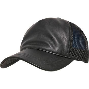 Asusteet / tarvikkeet Lippalakit Flexfit By Yupoong YP038 Black/Black