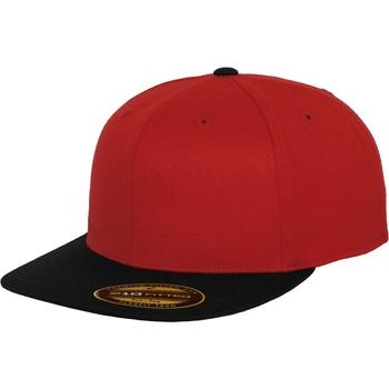 Asusteet / tarvikkeet Lippalakit Flexfit By Yupoong YP092 Red/Black