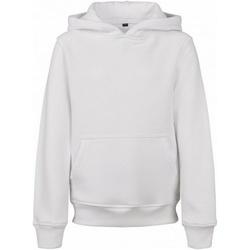 vaatteet Miehet Svetari Build Your Brand BY117 White