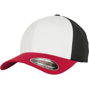 Asusteet / tarvikkeet Lippalakit Flexfit By Yupoong YP122 Red/White/Black