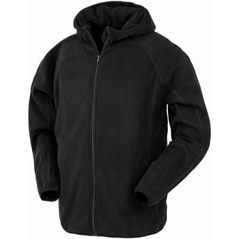 vaatteet Miehet Fleecet Result Genuine Recycled R906X Black